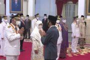 Mahyeldi-Audy Resmi di Lantik Presiden RI Sebagai Gubernur dan Wagub Sumbar