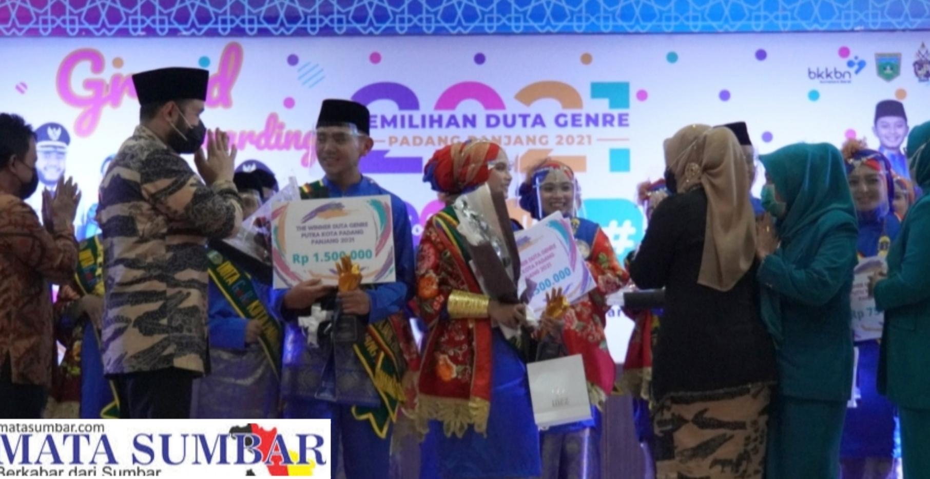 Grand Final Pemilihan Duta Genre, Gibra Alhamdi dan Aisyah Shinta Balgis Berhasil Keluar Sebagai Juara 1