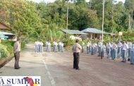 Polsek Sipora Sosialisasi Penerimaan Anggota Polri di SMAN 1 Sipora