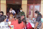 Satgas TMMD Ke-110 Kodim 0319/Mentawai Berikan Penyuluhan KB di Desa Bukit Pamewa