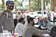 Vaksinasi di Polres Pasbar Kembali di Gelar, Peserta di Ikuti Para PJU, 2 Taruna Akpol dan 17 Siswa Diktuba