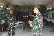 Dansatgas Cek Posko Pengendalian Kegiatan TMMD ke-110 Kodim 0319/Mentawai