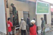 Pemuda Hingga Lapisan Masyarakat Antusias Ikut Andil Bantu Satgas TMMD Kerjakan RTLH di Dusun Mapaddegat