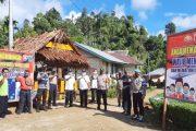 Sebagai Percontohan Prokes, Forkopimca Sikakap Resmikan Kampung Tangguh di Dusun Mabolak