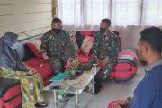 Bangun Kemanunggalan TNI Dengan Rakyat, Satgas TMMD Kunjungi SDN 23 Tuapejat