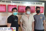 Pelaku Penipuan Berhasil di Tangkap Polres Pasbar di Ulak Karang Padang