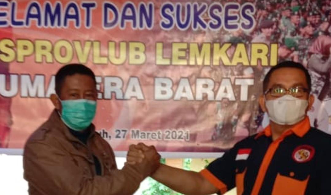 Musprovlub, Baidir Terpilih Secara Aklamsi Sebagai Ketua Lemkari Sumbar