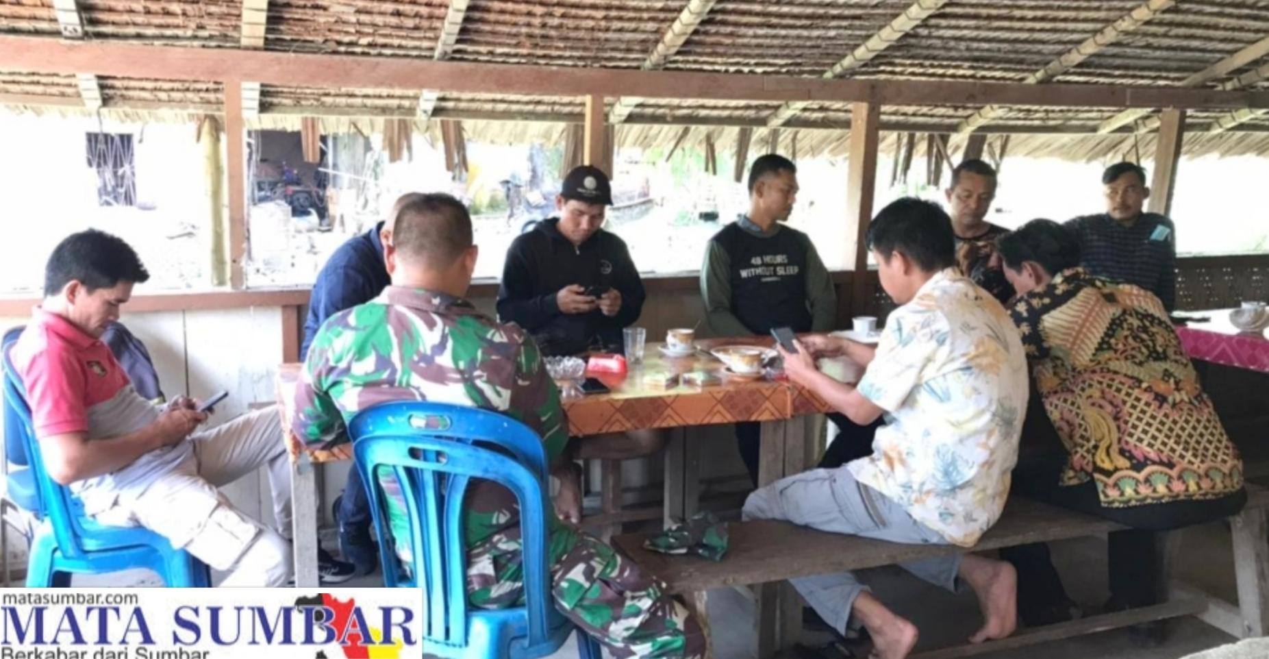 TMMD di Tutup, Tim Pendim 0319/Mentawai Coffee Morning Dengan Awak Media