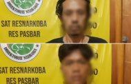 Dua Orang Pengguna Narkoba di Gulung Satresnarkoba Polres Pasbar