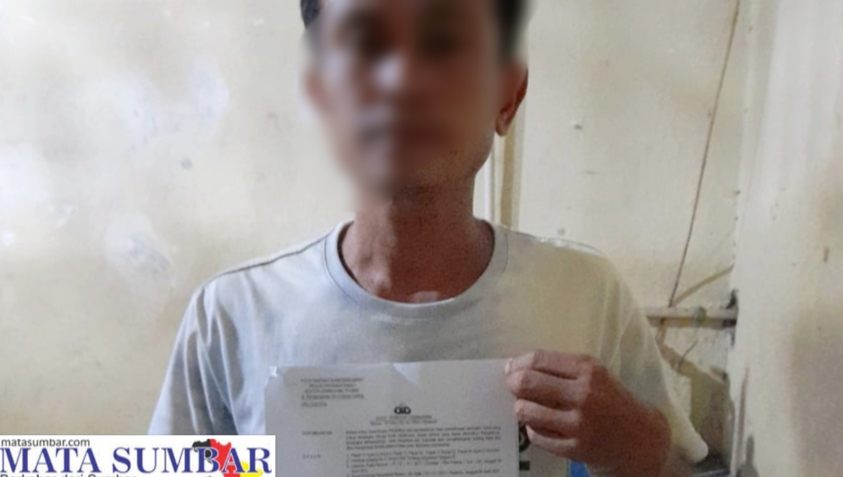 Curi Sawit Milik PT PMS, Seorang Pria di Pasbar di Amankan Polsek Lembah Melintang