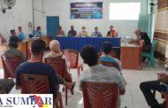 Babinsa Koramil 02/Muara Siberut Hadiri Sosialisasi Pencegahan Covid-19