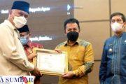 Musrenbang Provinsi, Pemko Padang Panjang Terima Dua Penghargaan