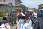 Koramil 04/Sikakap Dampingi Anak-Anak TPA Nurul Ihsan Pawai Sambut Bulan Suci Ramadhan