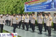 Polres Pasbar Gelar Apel Pasukan Ops Singgalang, Ada 9 Penekanan di Sampaikan