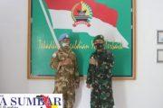 Komandan Kodim 0311/Pessel Sambut Kedatangan Prajuritnya Dari Kongo