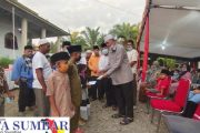 Buka Puasa Bersama, Bupati Pasbar Santuni 100 Orang Anak Yatim