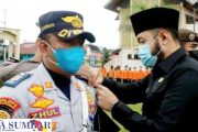 Pimpin Apel Gelar Pasukan, Wako Fadly : Ops Ketupat Selain Pengamanan di Pastikan Terlaksana Larangan Mudik