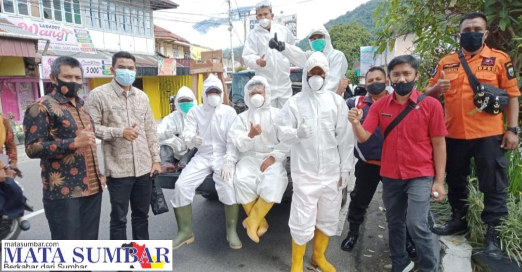 Upaya Pencegahan Covid, Kelurahan Paus Beraksi Kembali Lakukan Penyemprotan Disinfektan