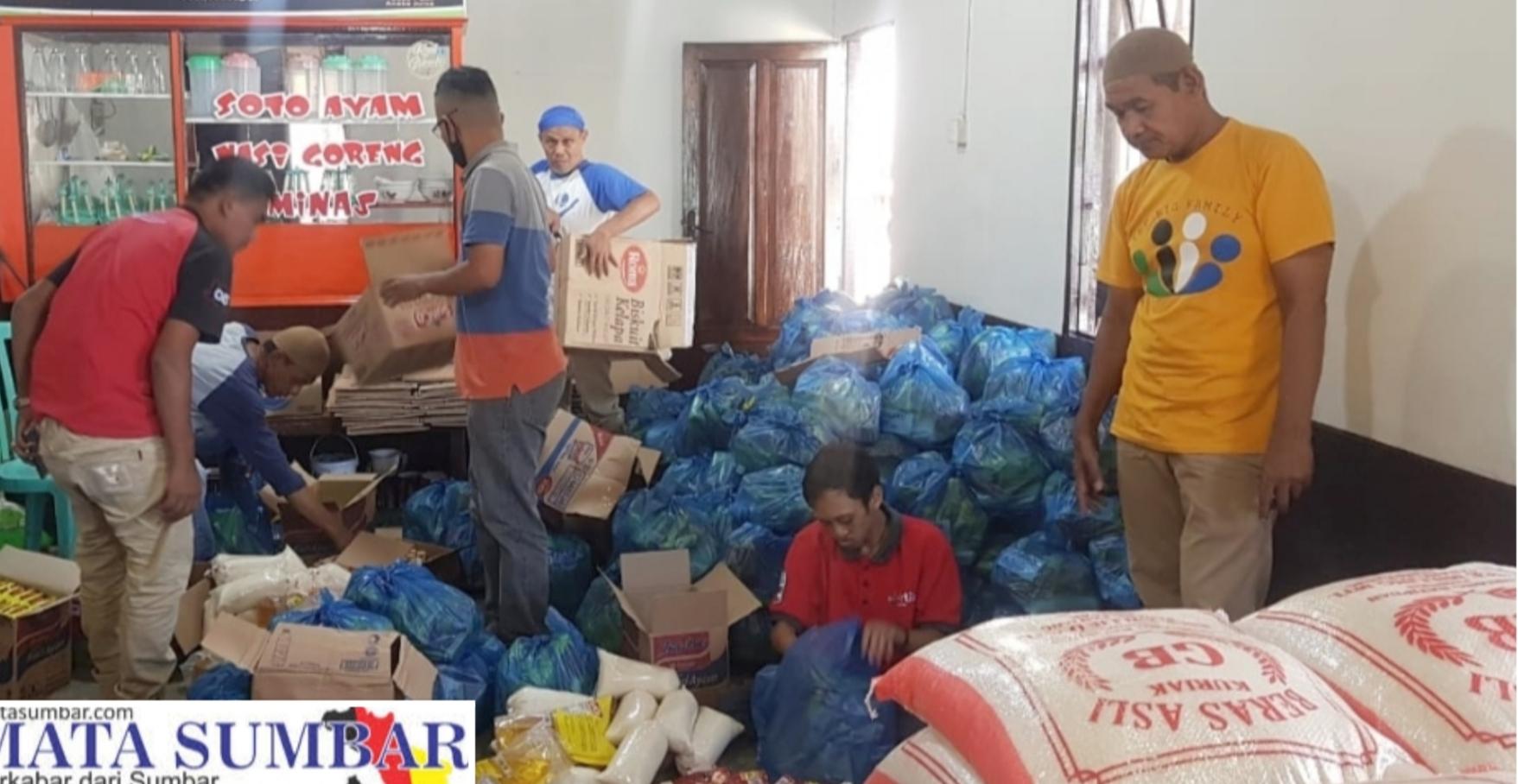 Berbagi Antar Sesama di Bulan Ramadhan, Flipper's Peduli Salurkan 305 Paket Sembako di 16 Kelurahan