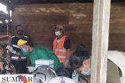Terdapat Dua Orang Kontak Erat, Bhabinkamtibmas Bersama Tim Posko PPKM Sipora Jaya Lakukan Tracking