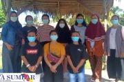 Cegah Tindakan Kejahatan Media Sosial, Ris Jennedi Edukasi Remaja Putri Sikabaluan
