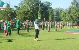 Jaga Kebugaran Tubuh, Kodim 0311/Pessel Olahraga Bersama