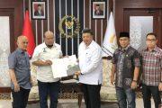 Bangun Koordinasi di Pusat, Wako Solok Audensi Dengan Ketua DPD RI.