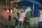 Aksi Corat-Coret Seragam di Jalan di Bubarkan Sat Pol PP Padang Panjang