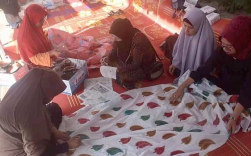 Selain Penunjang Ekonomi Masyarakat, Batik Motif Daun Sirih di Jadikan Sebagai Ciri Khas Gumala