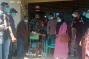 Penerima Manfaat BLT Untuk Lansia di Nagari Inderapura di Kawal Babinsa Pancuang Soal