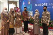 Sukses, Kelurahan Paus Raih Juara Umum Jambore Kader PKK Tingkat Kota Padang Panjang