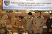 Ranperda Pertanggungjawaban APBD 2020 Jadi Perda di Setujui DPRD Pessel