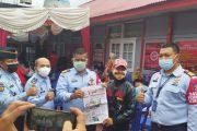 Kemenkumham Sumbar Ambil Bagian Gelar Serbuan Vaksinasi Pertama di Kota Padang Panjang