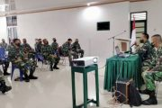 Jam Komandan, Dandim 0311/Pessel Berikan Arahan Kepada Prajurit