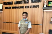Keseriusan Nagari Singgalang Perangi Pandemi Dengan Membentuk Relawan Aman Covid-19