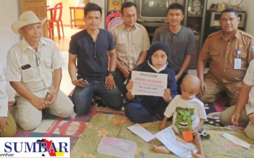 Bantuan Kemanusiaan Gerindra Tak Berhenti, Bocah Penderita Kanker Hati di Perhatikan