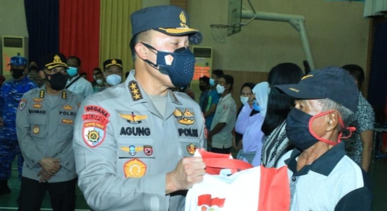 Vaksinasi di Selenggarakan Alumni Akpol 90 dan 96 di HTT Padang di Tinjau Komjen Pol Agung Budi Maryoto