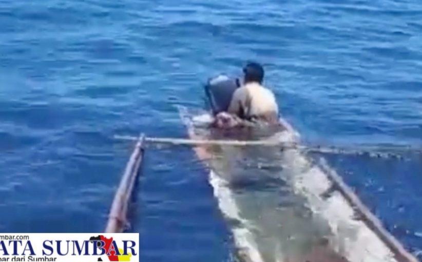 Seorang Nelayan di Kabarkan Belum Kembali, Akhirnya di Temukan Selamat